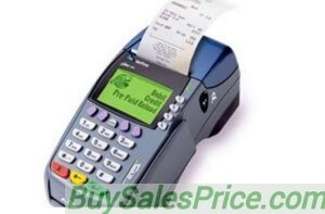 Point of Sale Machine giving out Teller