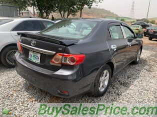 Neat Toyota Corolla for sale