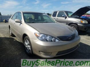 TOYOTA CAMRY FOR AT AUCTION PRICE